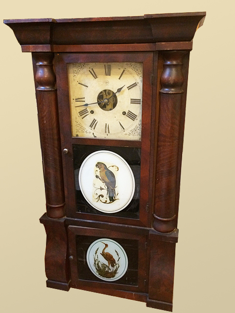 Sleigh Front Seth Thomas Shelf Clock