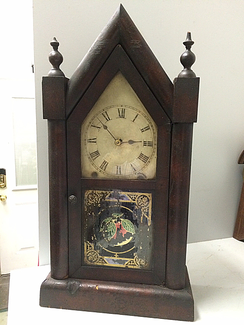 Jerome & Co. Steeple Clock