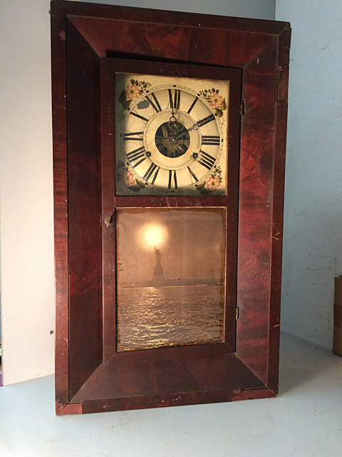 Clark, Gilbert & Co. OG Shelf Clock