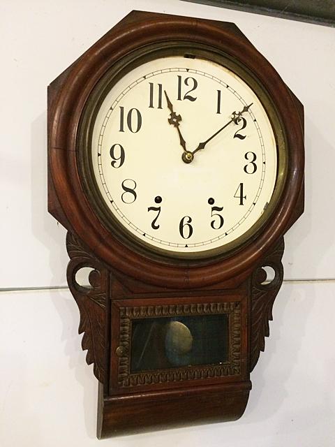 European Wall Regulator Clock