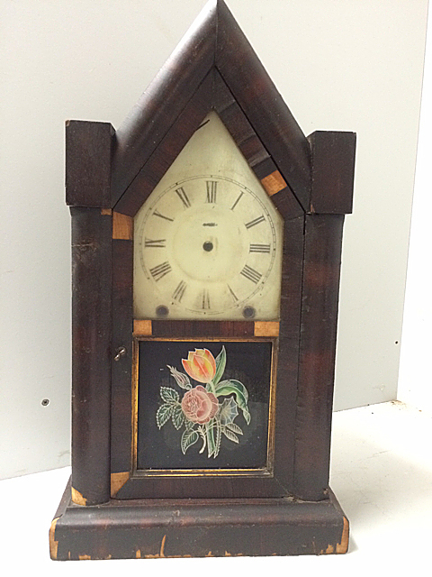 Ansonia Clock Co., 8 Day Gothic Clock Case