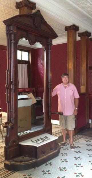 Renaissance Revival Hall Mirror