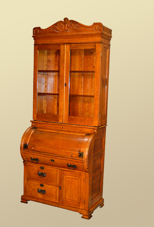 Victorian Drop Lid Ladies Secretary Desk