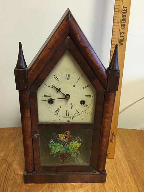 Jermone Miniature Steeple Clock