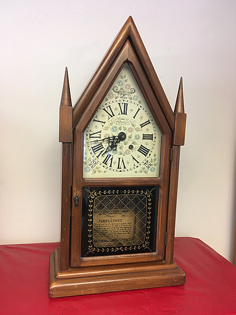 New England Clock Co. Steeple Clock