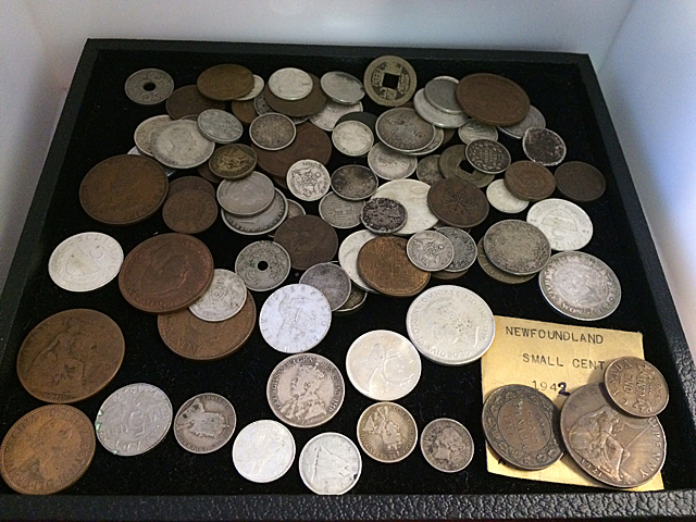 Foreign and Mixed Coin Lot