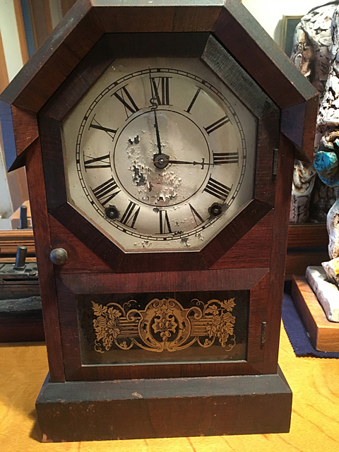 Seth Thomas Rosewood Shelf Clock
