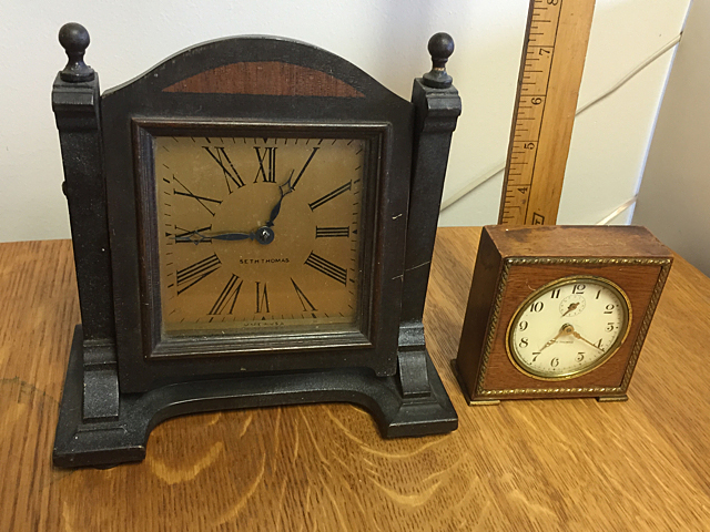 2 Seth Thomas Alarm Style Clocks