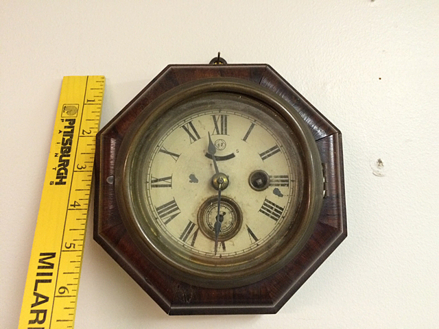 Rosewood Seth Thomas Gallery Clock