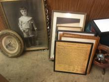 Estate Art and Photographs