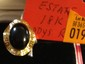 Estate 14kt Gold Ladies Ring with Black Onyx
