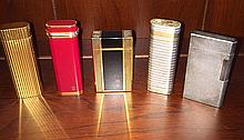 5 Vintage Cigarette Lighters