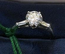 Vintage Estate 14kt Gold Ladies Diamond Ring
