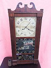 Jerome, Thompson, & Co. Pillar and Scroll Clock
