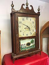 Seth Thomas Pillar and Scroll Clock