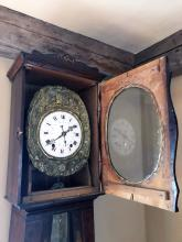 Lot 4: French Morbier Clock