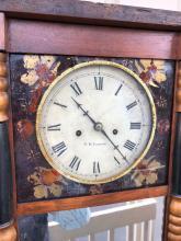 Lot 15: New Hampshire Mirror Clock