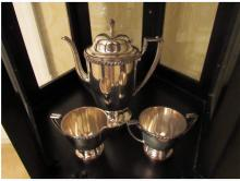 Lot 24: Sterling and Silver Plate