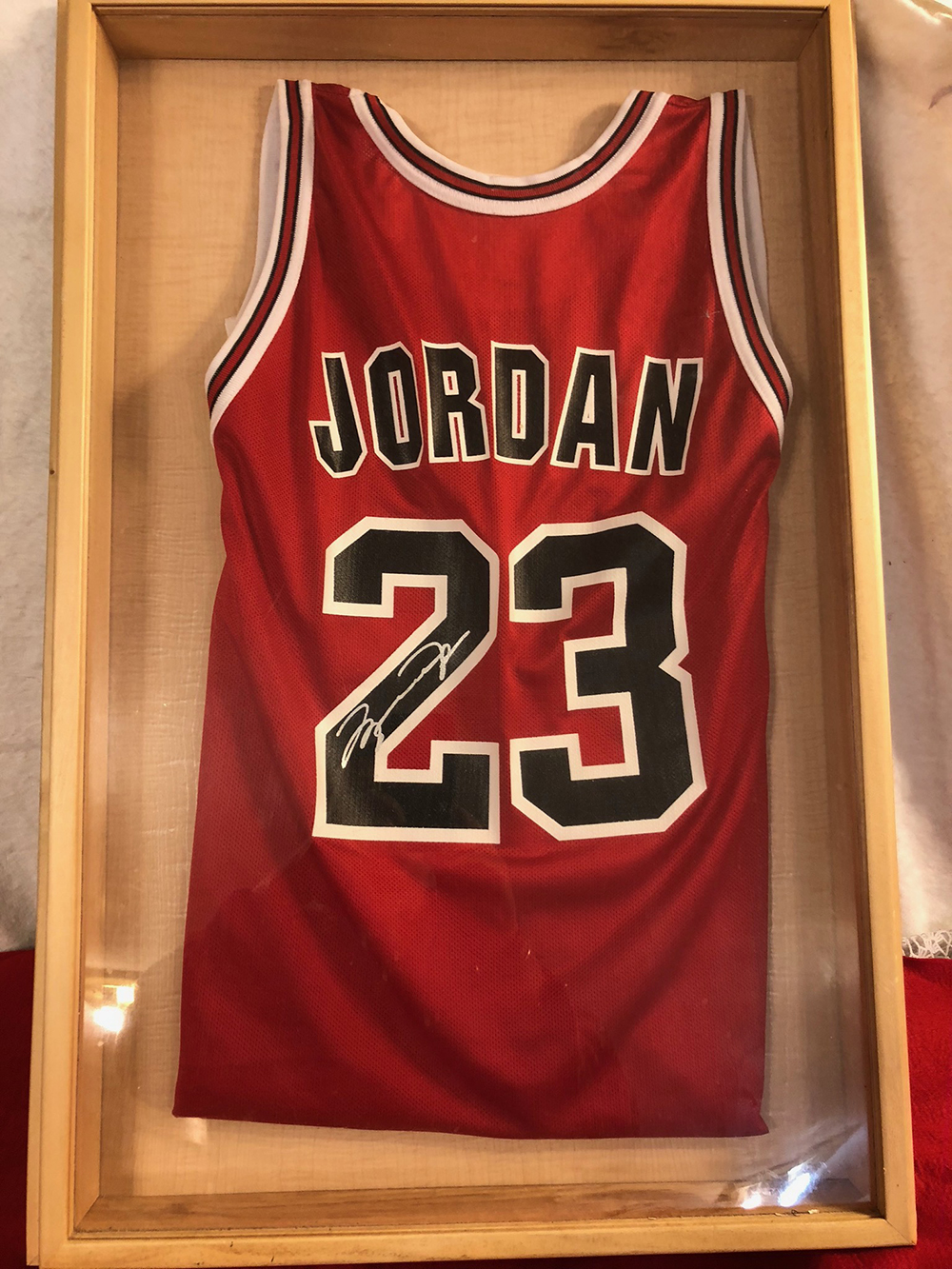 Michael Jordan Autographed Jersey