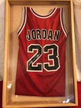 Lot 48: Michael Jordan Autographed Jersey