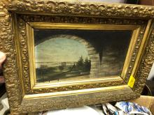 Lot 54: G.M. Hathaway Oil on Canvas