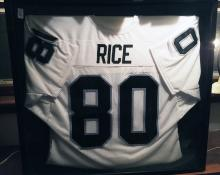 Lot 53: Jerry Rice Autographed Football Jersey
