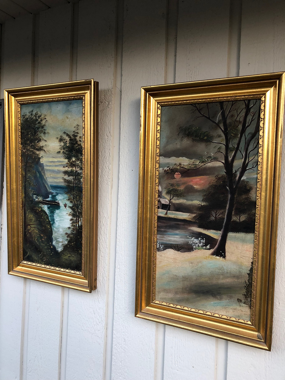 Pair of Landscape Oil Painting