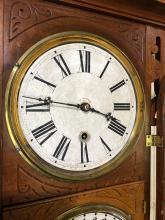 Lot 59: E.N. Welch Regulator Clock