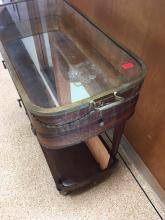 Lot 60: Vintage Tea Cart