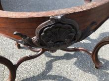 Lot 62: Victorian Rococo Rosewood Parlor Table