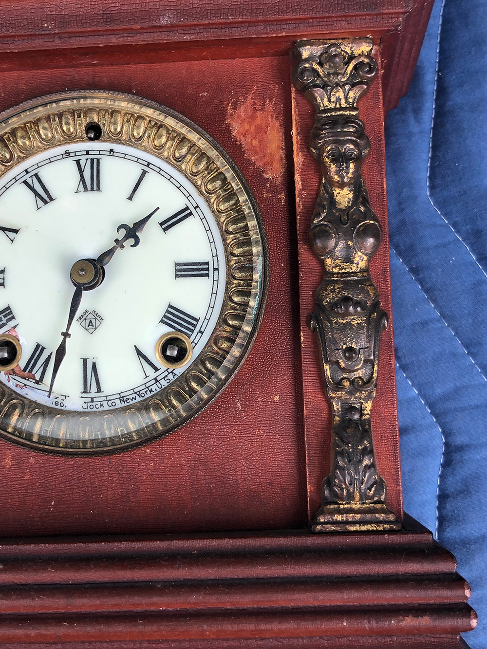 Lot 63: Ansonia Shelf Clock