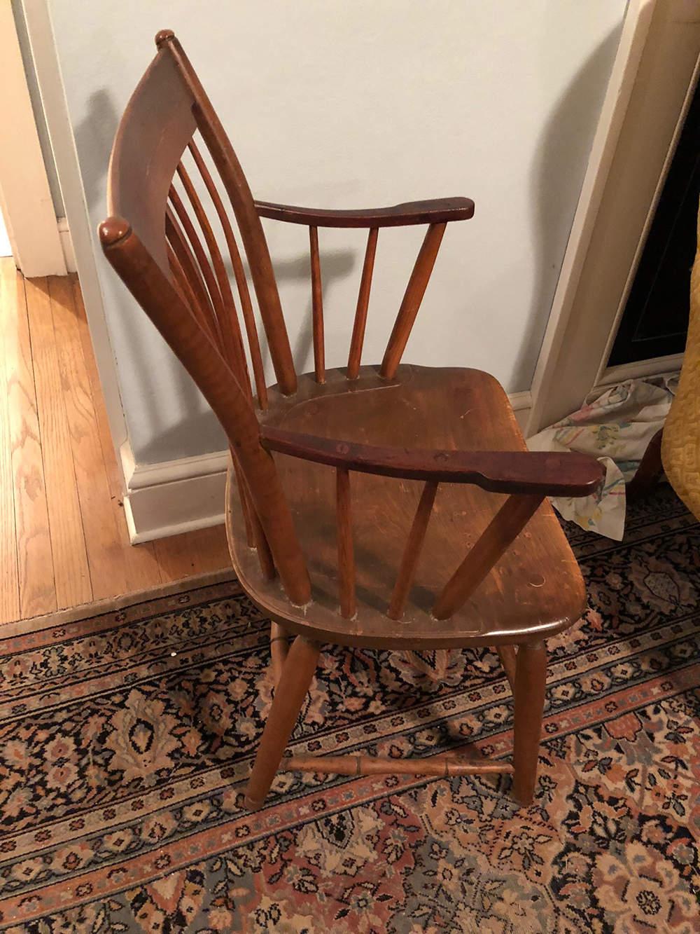 Lot 70: Early Windsor Chair