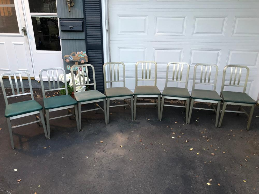 Matching Set of 8 Good Form Chairs