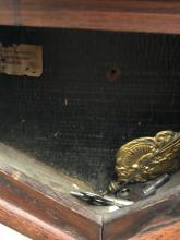 Lot 81: Waterbury Oak Schoolhouse Clock