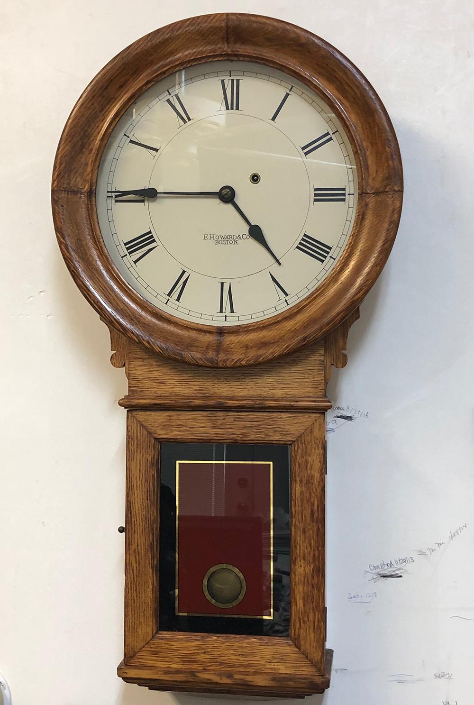 E. Howard #70 Regulator Clock