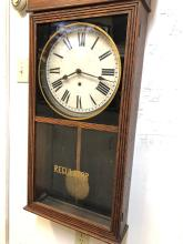 Lot 91: Sessions Country Store Wall Regulator Clock