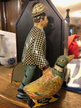 Lot 100: Vintage Joe Penner Wind Up Tin Toy