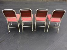 Lot 76: Set of 4 Matching Warren MacArthur Mid-Century Chairs