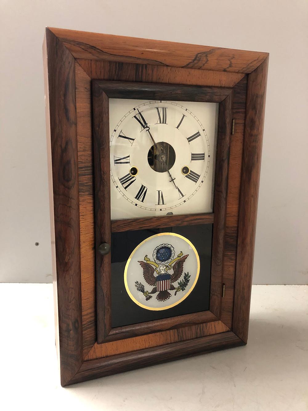 Seth Thomas Miniature OG Style Rowewood Clock