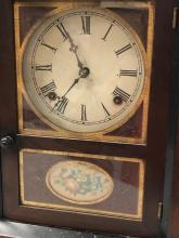 Lot 107: Jerome Shelf Clock