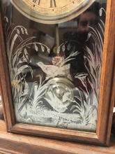 Lot 109: Ansonia Parlor Clock