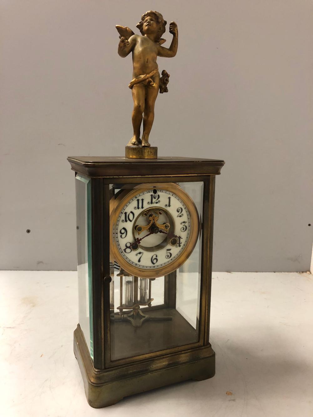 Waterbury Crystal Regulator Clock