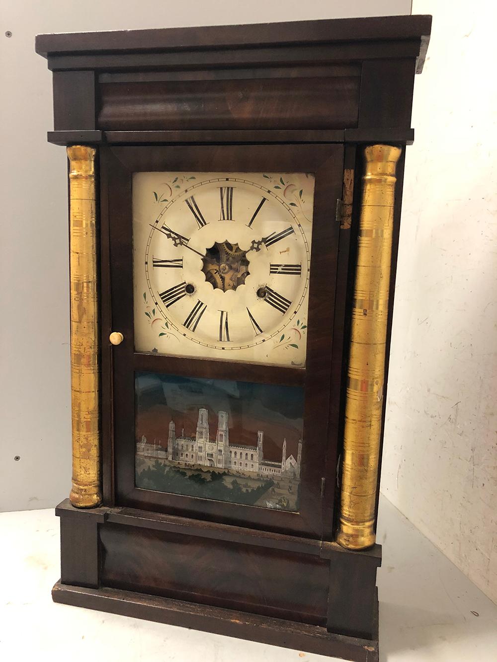 E.N. Welch Shelf Clock