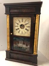 Lot 115: E.N. Welch Shelf Clock
