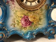 Lot 117: Ansonia Royal Bonn China Clock