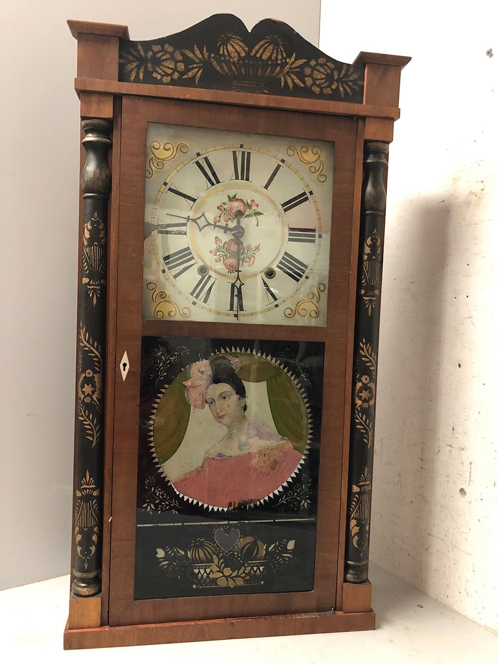 Edward M. Barnes Mantel Clock