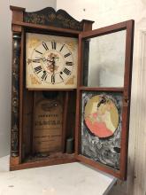 Lot 125: Edward M. Barnes Mantel Clock