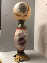 Lot 127: Gone with the Wind Lamp