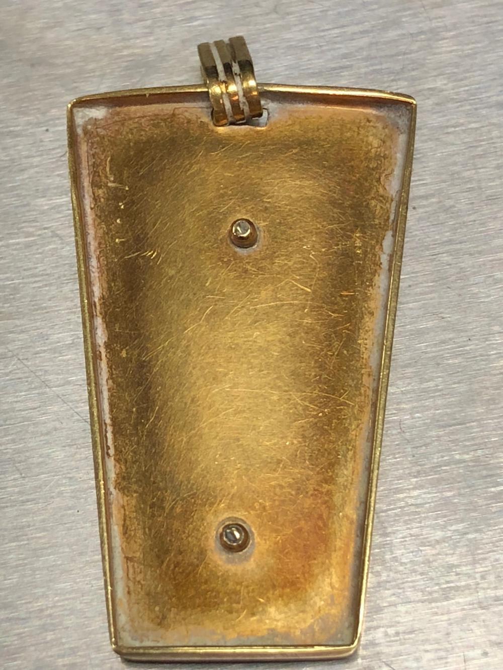Lot 128: High Karat Gold Charm