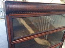Lot 130: Barrister Bookcase